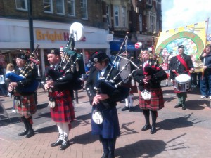 Bagpipes & Drums - Fire Brigades Union