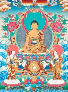 Buddha & Sariputra