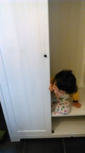 Mei-An seeking herself in a Wardrobe