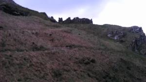 Tintagel Castle - Positioned for Defense