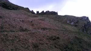 Tintagel Castle - Positioned for Defense