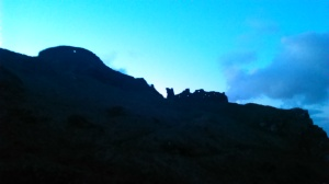 Tintagel Castle Ruins - Sunset