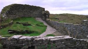 View into Castle Interior