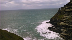 View from the Castle - Atlantic Ocean