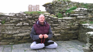 Meditation in the Castle Grounds