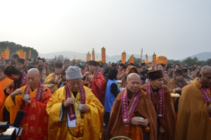 Eminent Monks Purify the Area