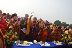 Bright Buddha-light benefits Thousands