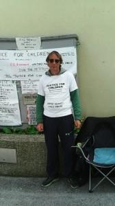 Mr Mark Chambers on Hunger Strike