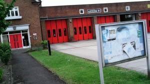 Sutton Fire Brigade Station St Dunstans Hill - North Entrance