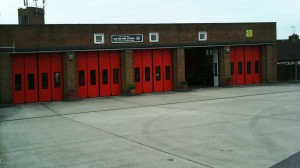 Sutton Fire Brigade Station (North Entrance)