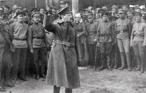 Trotsky in 1918 - Every Inch an Avid Bolshevik