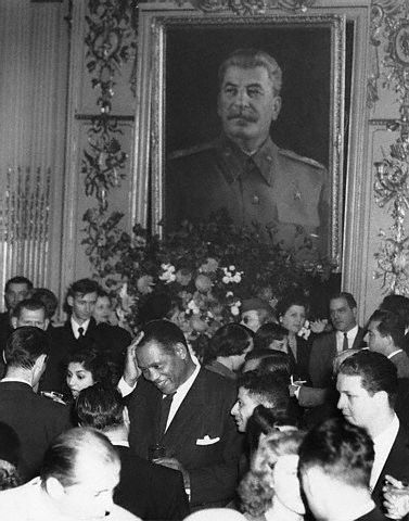 Paul Robeson at Russian Embassy Party