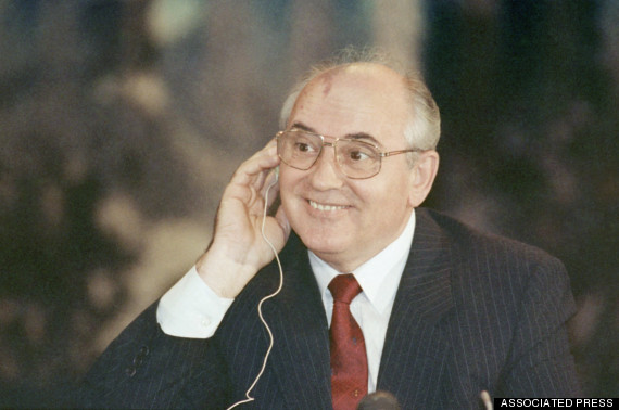Mikhail Gorbachev           in China